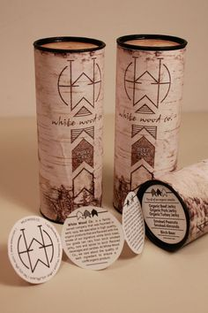 White Wood Co. on the Behance Network. Conceptual package design by @Taylyn Fuhrman