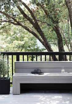 Deck Update with Outdure Outdoor Spaces, Outdoor Living, Outdoor Decor, Outdoor Ideas, Timber Bench Seat, Interior Balcony, Pool Landscape Design, Weber Bbq, Timber Deck