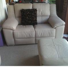 Tu Piel Mario Sofa, 2 Seater Fixed Sofa