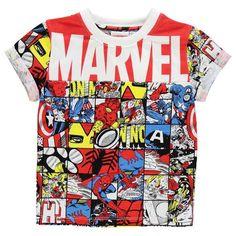 Boys Marvel Avengers T Shirt