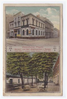 Plagwitz, Westendhallen 1913