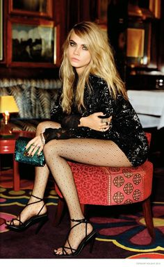 Topshop Holiday 2014 with Cara—High street brand Topshop is already gearing up the holidays with a new campaign starring Cara Delevingne. The British model