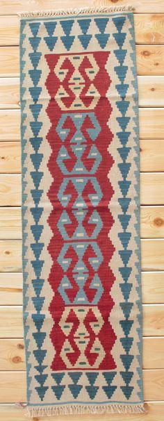 Turkish Rug Runner Boho Rug 1.90 x 6.46 ft Turkish Kilim Runner Rug Kilim Rug Area Rug Geometric Rug Bohemian Decor Kilim Ottoman Wool Rug by Rugsnrunners on Etsy
