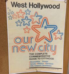 #tbt to 30 yrs ago when @wehocity was founded. To see how @wehoarts celebrated go to www.bitly.com/weho30 #wehoarts #wehoat30