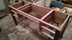 Craftsman/Japanese Traditional Joinery Desk - by RossJensen @ LumberJocks.com ~ woodworking community