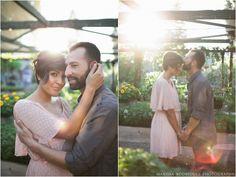 Organic Farm Engagement Session // Marissa Rodriquez Photography #engagement