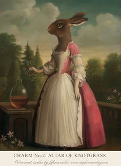 East Urban Home 'Charm No. 2 Attar of Knotgrass' by Stephen Mackey Painting Print on Wrapped Canvas Size: Butterfly Wall Decals, Animal Wall Decals, Flower Wall Decals, Stephen Mackey, Illustrations, Illustration Art, Painting Frames, Painting Prints, Art Paintings