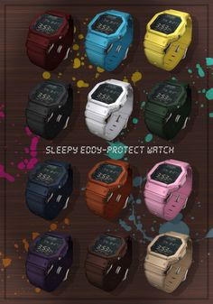 {Sleepy Eddy} | Protect Watch Coming to The Arcade - Sept 1st Join the facebook event here to be notified when it opens: https://www.facebook.com/events/881345558601225/