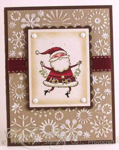 Vintage Santa by SophieLaFontaine - Cards and Paper Crafts at Splitcoaststampers