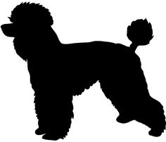 Poodle With Leash Silhouette Clipart - Clipart Kid