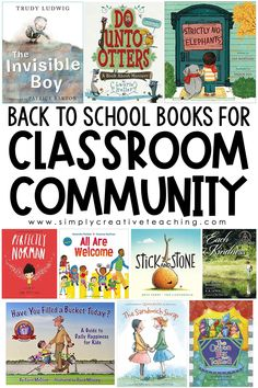 These top 10 books for building classroom community are essential to add to your first day of school read aloud! These picture books teach students how to build a classroom community. These contain books about friendships, anti-bullying, and ways to build community in the classroom. These read aloud are perfect for elementary classrooms: kindergarten, 1st grade, 2nd grade, 3rd grade, 4th grade, and 5th grade! #backtoschool #picturebooks