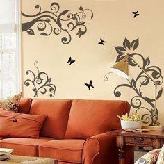 bedroom wall stencil ideas wall stencils for the bedroom