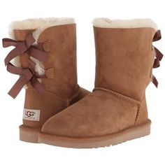 UGG Bailey Bow - don't care too much for the original ugg boots but these are very cute Ugg Bailey, Bailey Bow, Short Heel Boots, Heeled Boots, Original Ugg Boots, Uggs With Bows, Ugg Boots Cheap, Cheap Uggs, Boots Sale