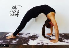 INKED Yoga Mat!  Yoga Mats made Functional and BEAUTIFUL!  Available now!!  Yes!!!