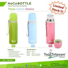 HoCo Bottle Thermos | New Product Twin Tulipware 2013