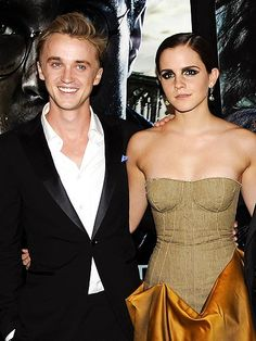 Emma Watson & Tom Felton