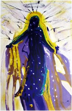 """Salvador #Dali (Spanish, 1904-1989) """"The Snow Queen"""" (1966) Description: These are some of the most beautiful lithographs in Salvador Dali's oeuvre of graphic works (Hans Christian Andersen Tales) Media: Lithograph in color    Edition of 75 (Japon) Literature: Field, A. The Official Catalogue of the Graphic Works of Salvador Dali (1996), Ref #66-6A Dimensions: 25 3/4 x 19 7/8 inches (Sheet) Price: On request"""