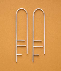Susan Snyder Jewelry Architecture Earrings modern jewelry