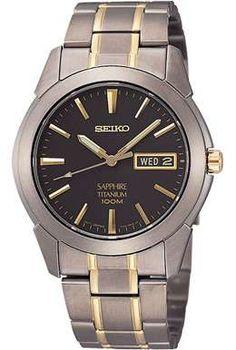 Men's Watches: Seiko Gents Titanium SGG735P1