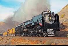 RailPictures.Net Photo: UP 844 Union Pacific Steam 4-8-4 at Lockwood, Nevada by Drew Jacksich