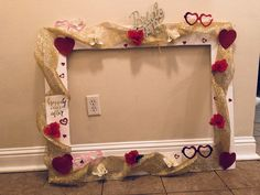 Bridal Shower Picture Frame For Fun Picture!