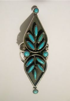 Rare Vintage Zuni Sterling Silver by PattisCreationsNMore on Etsy
