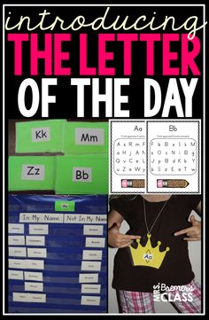 An entire blog post about how to introduce the Letter of the Day in Kindergarten! Love the silly rap song!