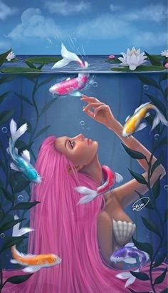 Image uploaded by galia. Find images and videos about beautiful, girl and girly_m on We Heart It - the app to get lost in what you love. Mermaid Artwork, Mermaid Drawings, Girly Drawings, Art Drawings, Fantasy Mermaids, Mermaids And Mermen, Mermaid Wallpapers, Mermaid Illustration, Girly M