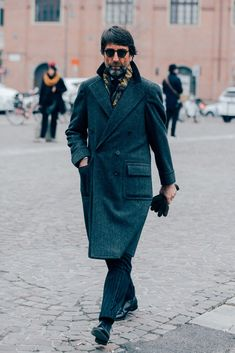 2bfec5ddee31 Pitti Uomo s Most Stylish Men Show You How to Dress for Winter