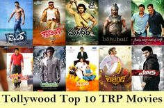 Top 10 Telugu Movies TRP Ratings All Time In TV Channels.OMG Baahubali in 4th