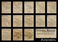 Fantasy Map - Step-by-step tutorial by Djekspek
