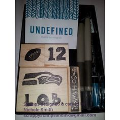 Stampin' Up! Undefined - Carve your own stamps kit.  Seattle Seahawks - Super Bowl Champs!  #gohawks!