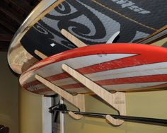 The O`ahu Series is for Surfboard and Paddleboard Display and Storage. They are big honkin' racks for big honkin' boards but will give your beauties the acclaim they deserve. #Paddleboard