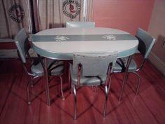 155 best vintage dinettes images vintage chairs vintage kitchen rh pinterest com