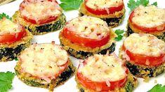 Zucchini Ravioli, How To Cook Zucchini, Party Buffet, Avocado Egg, Bruschetta, Sushi, Side Dishes, Vegan, Vegetables