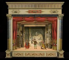 This 1885 paper theater by French publisher Imagerie Dehalt