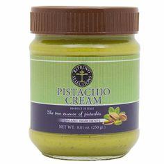 Premium Organic Pistachio Spread from Sicily by Stramondo 8.8 oz
