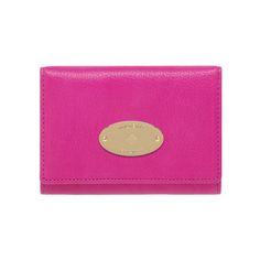 Mulberry - French Purse in Mulberry Pink Glossy Goat Smycken Tillbehör c21da00088063