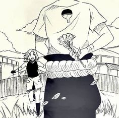 Not a fan of sasusaku, but this is pretty cute.