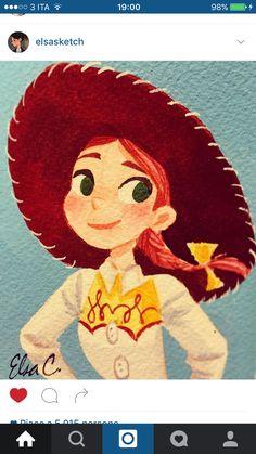 Disney Girls, Disney Love, Disney Stuff, Disney Princess, Disney Pixar, Disney Characters, Fictional Characters, Jessie Toy Story, Disneyland