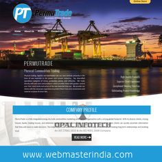 View www.permutrade.com for PermuTrade USA, A Responsive #Wordpress website launched by Opal Infotech. A physical commodities trading firm that caters Grey Portland Cement, Grey Portland Cement Clinker, Steam Coal, Coking Coal, Anthracite Coal, Calcined Coal, Petcoke, Gypsum Powder and Limestone. A company is a fully integrated energy dry bulk commodities marketing and logistics organization with a strong global footprint.