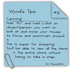 Wynd's Tips #3