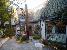 Carmel California-Village by the Sea..Quaint little town with eateries and shops all by the beautiful ocean and gorgeous scenic highway.  A great romantic getaway!