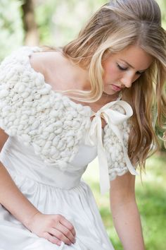 Pixie Dust Capelet by Heartenhandknits on Etsy
