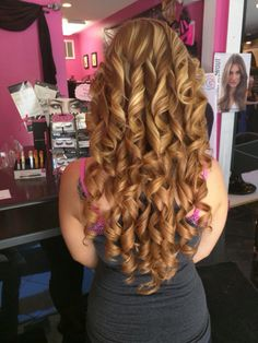 Spiral Curls, 50 Shades, Hair Extensions, Curly Hair Styles, Hair Color, Bangles, Hairstyles, Beauty, World