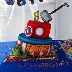 Avengers | 19 gâteaux impressionnants qui réjouiront tous les nerds