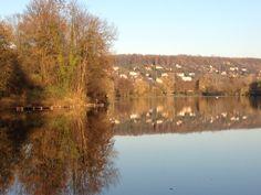 Lac de Gassicourt #seine #manteslajolie