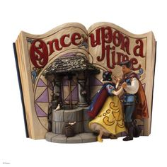 Jim Shore for Enesco Disney Traditions Snow White Story Book Figurine, 6.25-Inch
