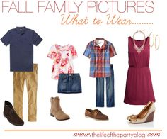What to Wear: Fall Family Pictures