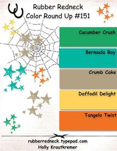color selection for card-making, color combinations for making cards, Stampin'up! color combos